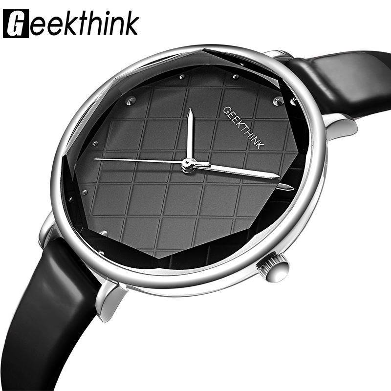 Geekthink Fashion Quartz Watches Women Diamonds Wrist Watch Leather Top Luxury Brand Ladies Dress Clock Female New relogio 2016 new fashion geneva women watch diamonds dress ladies casual quartz watch leather wrist women watches brand relogio feminino