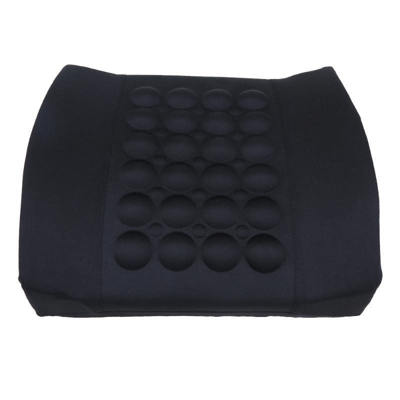 1Pc Car Lumbar Support Pillow 12V Electric Massage Lumbar