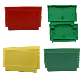 20PCS For Nintendo FC Shell Gaming Card box case cover Game Cartridge Replacement Plastic Japanese version 3Colors