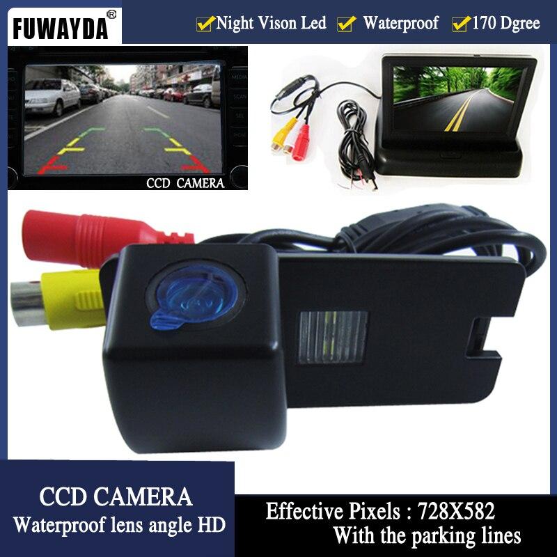 Fuwayda Цвет заднего вида Камера для Holden Commodore Holden/Commodore VY VZ ve1, с 4.3 inch Складная ЖК-дисплей TFT Мониторы HD