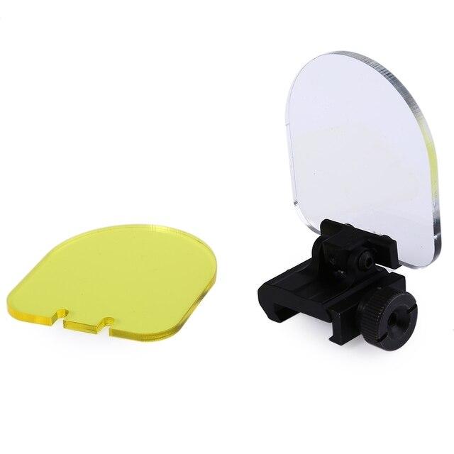Besch Farbe doppel farbe plexiglas faltbare objektiv beschützer schallwand