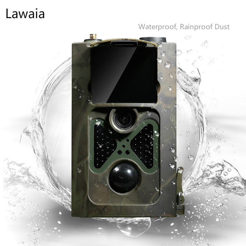 Lawaia H50 Hunting Trail Camera HD Waterproof Hunting Camera MMS GPRS SMS Control Wildlife Scouting Camera Wide Angle 70 Degrees