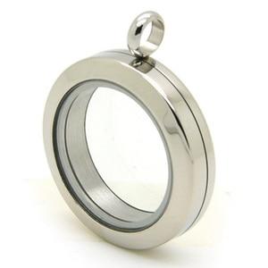 Image 3 - 10pcs/lot Locket Pendant wholesale! 30mm/25mm/20mm Screw Stainless Steel Floating Locket Floating Charms Memory Glass Locket