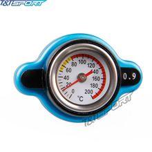 0.9Bar/1.1Bar/1.3Bar гоночный датчик температуры Автомобильный термометр крышка радиатора крышка температура воды метр