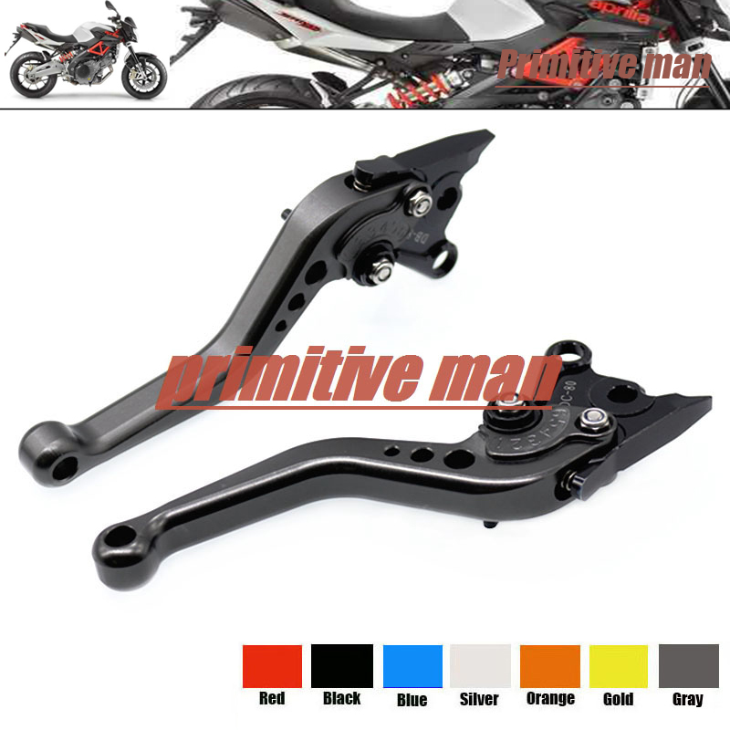 цены  For Aprilia RSV MILIE/R 1999-2003 FALCO/SL1000 2000-2004 Motorcycle Aluminum Short Brake Clutch Levers Gray