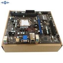 Original Usado madre De Escritorio De msi H55M-SE32 H55 LGA1156 soporte de apoyo I7 I5 I3 2 * DDR3 8G 6 * SATA2 USB2.0 Micro ATX