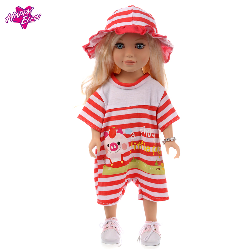 18in American Girl Doll and Baby Born Doll Clothes All kinds of style clothes children Christmas gift free shipping the doll