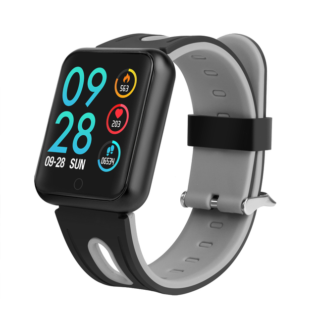 Smart Watch P68 Men Women Blood Pressure Heart Rate Monitor Sports Tracker Smartwatch IP68 Connect IOS Android PK dz09