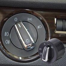 5ND941431A 1K0941431 Scheinwerfer Schalter Steuerung Fit für VW Golf GTI Jetta MK5 MK6 Passat B6 Tiguan Kaninchen Caddy