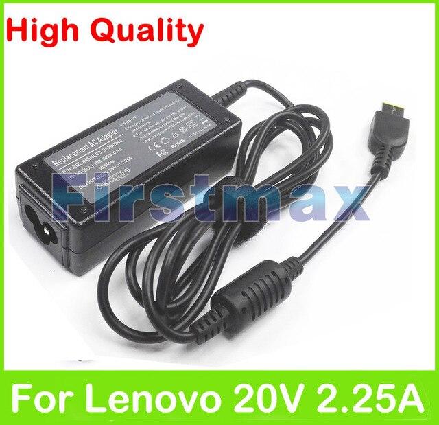 20 v 2.25a 45 w laptop ac adaptador de cargador para lenovo thinkpad adlx45nlc3 adlx45ndc3a adlx45ncc3a 0c19880 59370508