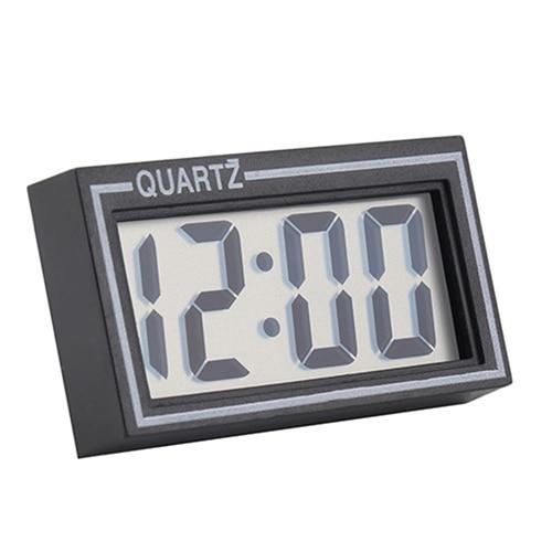 Digital LCD Screen Table Auto Car Dashboard Desk Date Time Calendar Small Clock