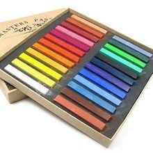24 Color Soft Chalk Pastel For BJD SD DOD Dollfie Make Up Face Up Tool Set
