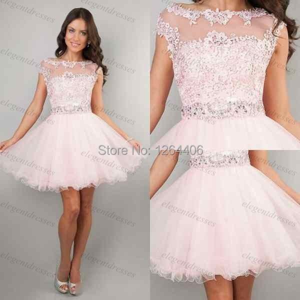 Popular 8th Grade Graduation Dresses 2014-Buy Cheap 8th Grade ...