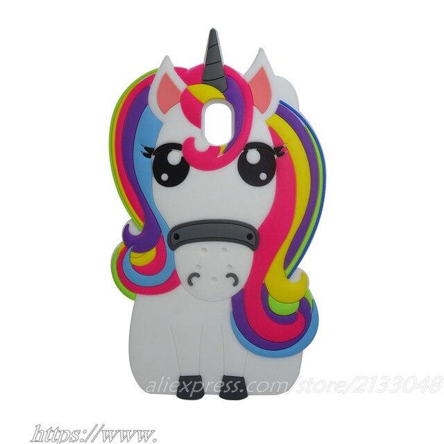 carcasas samsung j7 2017 unicornio