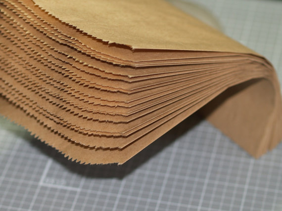 100 Kraft Paper Bags 5 x 7 Merchandise Bags Packaging Wedding Favor Kraft Treat Bags Printable DIY Gift Bags Plain Brown ...
