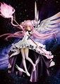 Аниме Puella волхвов мадока Magica канаме мадока крыло платье бог ангел версия 33 см пвх фигурку куклы игрушки