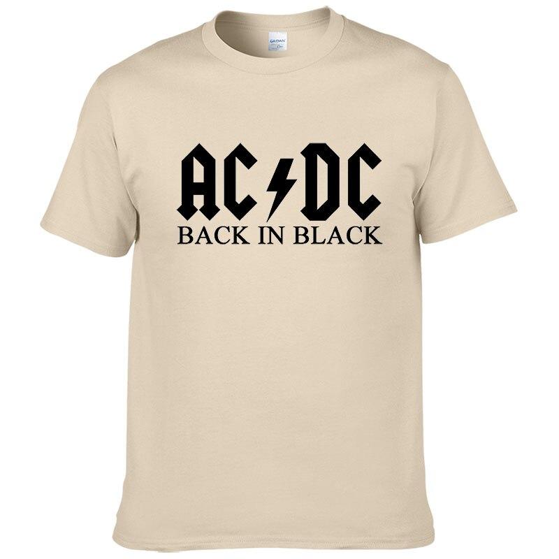 Banda de rock ac dc t camisa masculina 2017 verão 100% algodão marca de moda acdc masculino camiseta hip hop para fãs #149