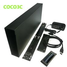 Ноутбук ExpressCard 34 до 2 pci-e слотов адаптер Тетрадь внешний PCI Express сетевой карты видеокарта звуковая карта