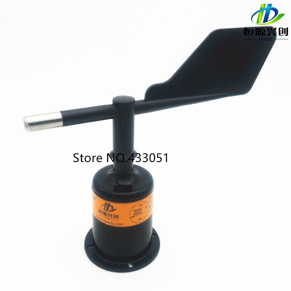 Livraison Gratuite, capteur de direction du Vent, airflow direction émetteur, signal de sortie 0 ~ 5 V/4 ~ 20mA/RS485/RS232; stations Météorologiques