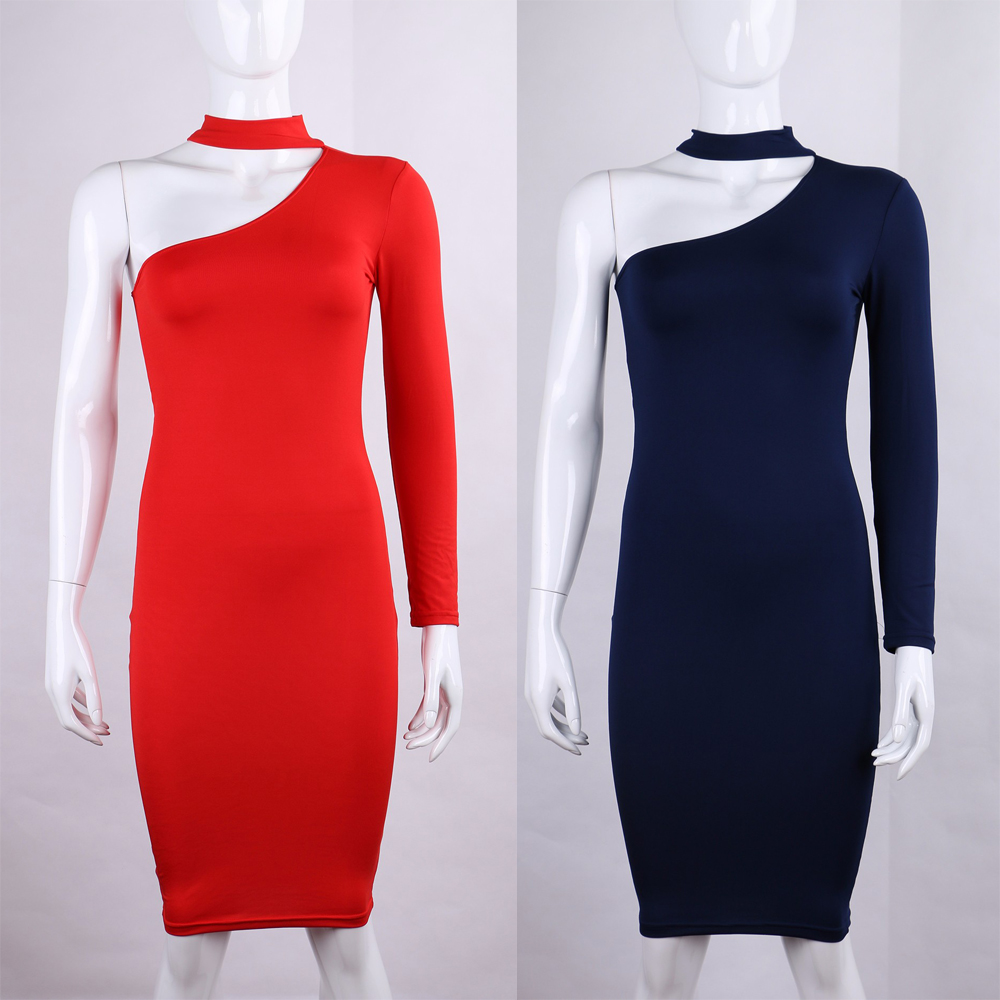 Related Posts of One Shoulder Dresses With Long Sleeves