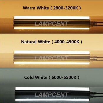 T5 Integrato 2FT 3FT 4FT 5FT 6FT 8FT HA CONDOTTO LA Luce Del Tubo Sottile Lampada 85-277 V 2/4 /6/10 Pack