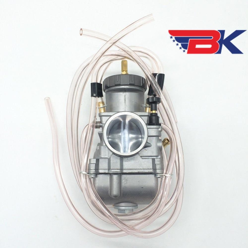 Keihin pwk38 38mm para estrangulador de ar,
