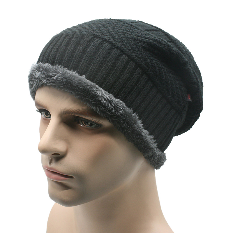 1pcAutumn Men Winter Hat Boy's Warm Baggy Hat Men Cotton Cap Women Hat Thick Bonnet Skullies Beanie Soft Knitted Beanies Gorros 2017 winter women beanie skullies men hiphop hats knitted hat baggy crochet cap bonnets femme en laine homme gorros de lana