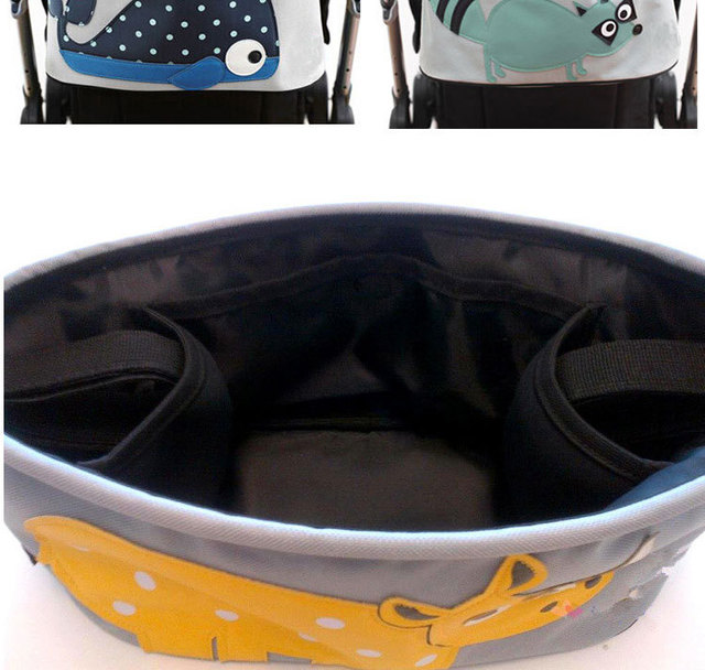 Newborn Baby Stroller Bags Carriage Pram Cart Animal Storage Mummy Nappy Bag Water Bottle Diaper Bag Baby Strollers Accessories