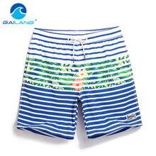 GAILANG Marke Männer Boardshorts Bademode Kurz Böden Herren Badeanzüge Quick Dry Swimwear Aktive Bermudas Mann Boxer Homosexuell Stämme