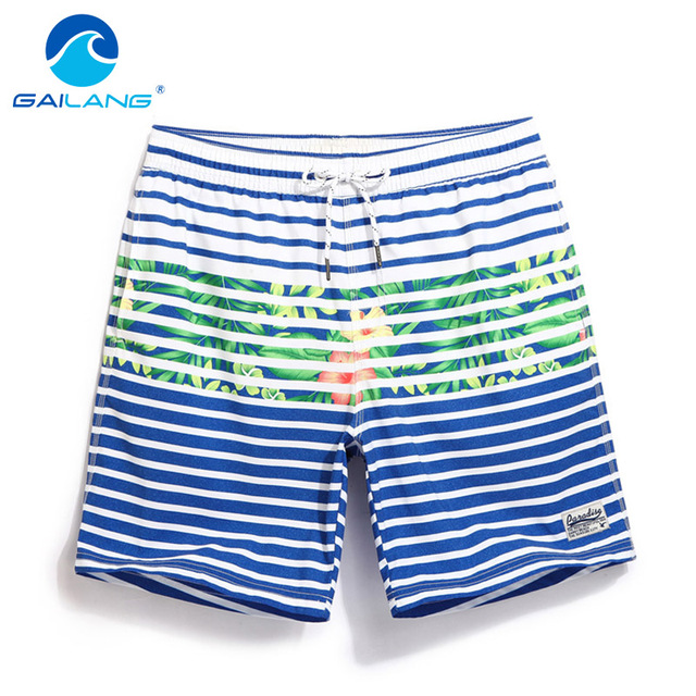 GAILANG Brand Men Board Shorts Beachwear Short Bottoms Mens Swimsuits Quick Dry Swimwear Active Bermudas Man Boxers Gay Trunks