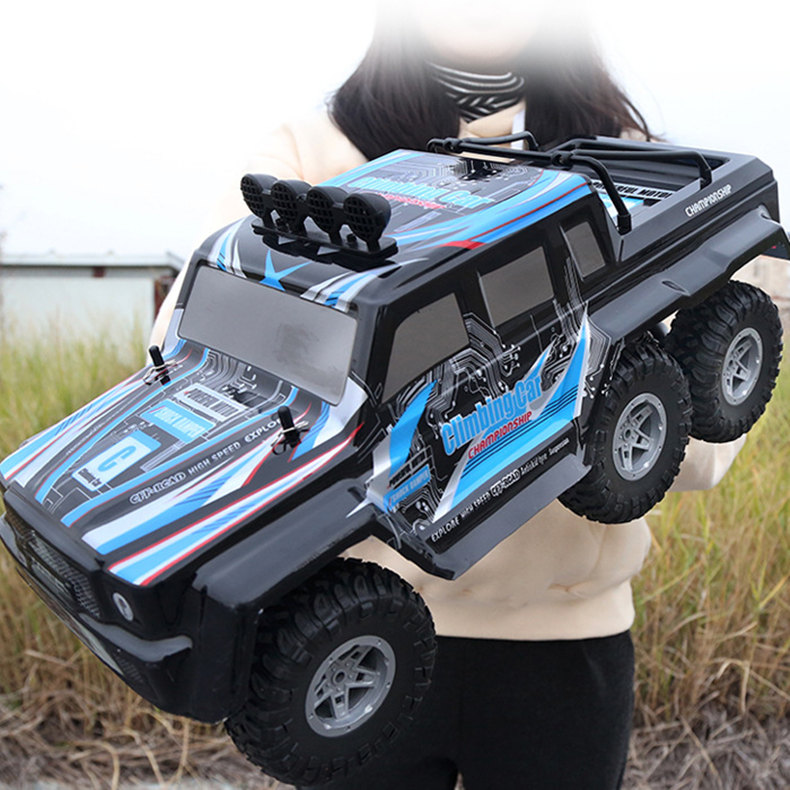 [Funny] 4CH 2.4GHz 6X6 RC Stunt Car Remote Control Racing Car light Six-wheel drive SUV Electric vehicle Beach car toy kids gift[Funny] 4CH 2.4GHz 6X6 RC Stunt Car Remote Control Racing Car light Six-wheel drive SUV Electric vehicle Beach car toy kids gift