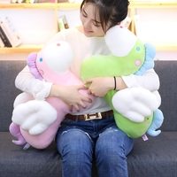 Cartoon Flying Horse Plush Toy Stuffed Animal Doll Angel Horse Soft Nap Pillow Kids Birthday Gift 36cm