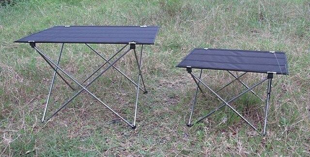 Multifunctionele Indoor Picknicktafel : Ultra licht outdoor vouwen picknicktafel aluminium opvouwbaar