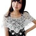 2015 Marca de Design de Moda Mulheres Crochet Lace Scarf Escavado-Out Mulher Cape Xale e Cachecóis Atacado B2 #41