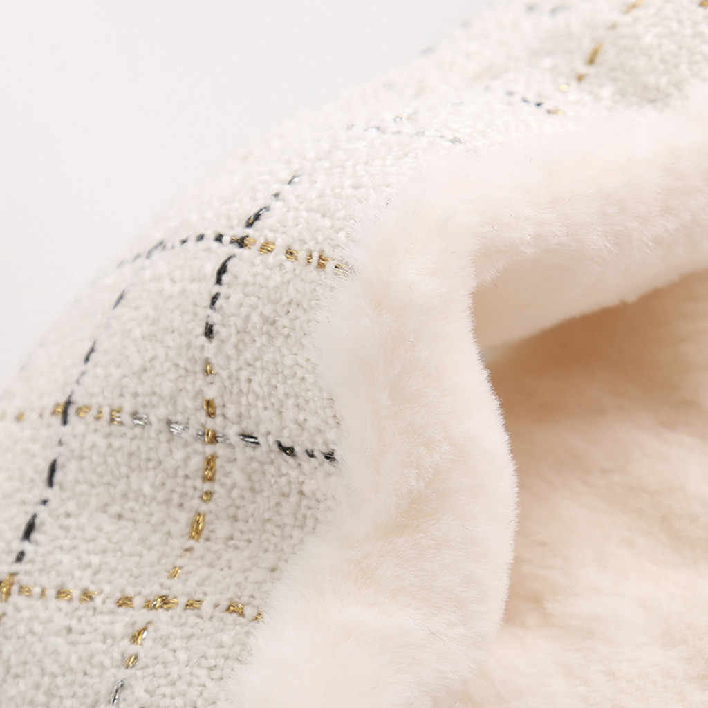 Phụ Nữ Mùa Đông Miếng Dán Cường Lực Dài Ấm Áp Len Bling Khăn Choàng Kẻ Sọc Mềm Mại Khăn Choàng Cổ Nữ Cao Cấp Thương Hiệu Vuông Khăn Choàng Khăn Choàng Lớn # trước Công Nguyên