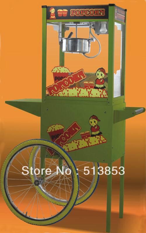 WTP6E-2 1450W Oz 8 luxury valley machine popcorn machine corn machine belt roof