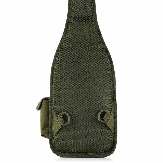 תיק כתף צבאי כולל נרתיק לאקדח 1