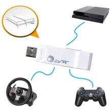 Branco brook para ps4 usb controlador adaptador conversor com fio/sem fio para ps3 joystick para logitech g27/g29 gt para corridas de rodas