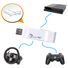 White Brook for PS4 usb Controller Adapter Converter Wired/Wireless for PS3 Joystick for Logitech G27/G29 GT for Racing Wheels