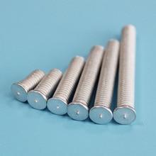 bolt M5 aluminum alloy CD weld studs capacitor discharge spot welding screws цены