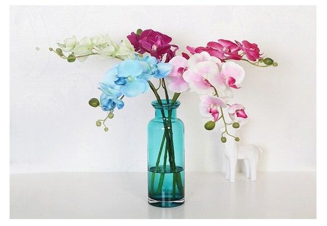 aisong 25x8 5cm nordic minimalist handmade transparent glass vase