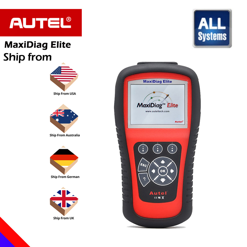 [Authorization Distributor] Autel Maxidiag Elite MD802 All system +DS Model Full System DS+EPB+OLS+Data Stream DHL free shipping lacywear s 12 ols