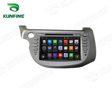 Quad Core 1024*600 Android 5.1 Car DVD GPS Navigation Player Car Stereo for Honda FIT 2009-2011 Radio 3G Wifi Bluetooth