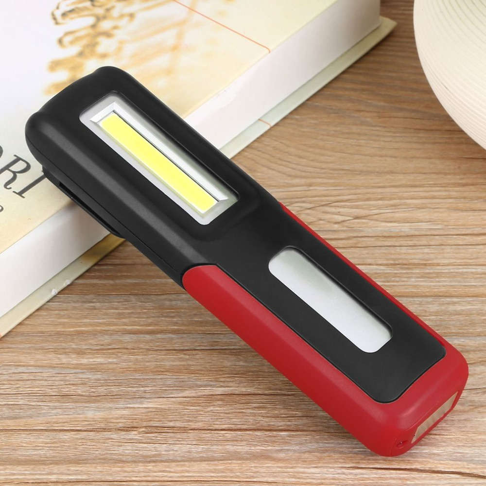 Portable led COB work Light USB Rechargeable Mini Flashlight Torch lantern Hanging Lamp Outdoor Camping Battery Capacity Display emergency light led rechargeable multifunctional leds 5 modes outdoor lamp mini lantern camping light portable lamps flashlight