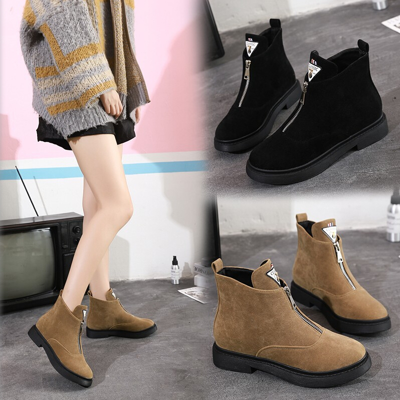 XWWDVV Female boots autumn winter female boots short money inside heighten winter type cotton-padded shoesXWWDVV Female boots autumn winter female boots short money inside heighten winter type cotton-padded shoes