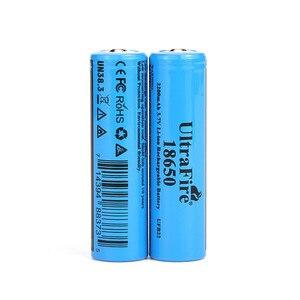 Image 2 - Ultrafire 18650 3.7V 리튬 이온 충전지 luz USBLED 야간 조명 de litio para las baterias de la linterna