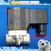Solenoide valvula 2S030 08 1/4 Stainless steel air valve,2/2 way direct acting normally closed series flow control gas valve