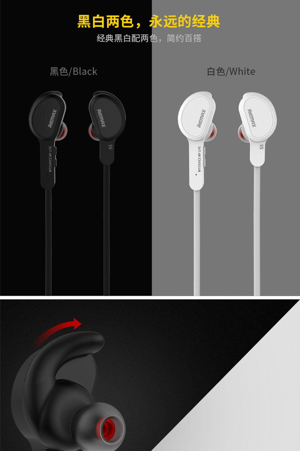 Remax Remax RB T12 Clip On Handsfree Bluetooth Headset price on Jumia