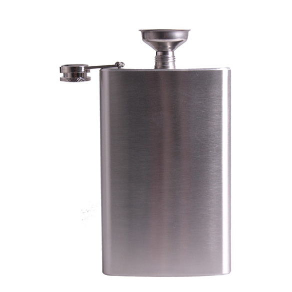 Mini Stainless Steel 5/6/10/18oz Hip Flasks Liquor Whisky Alcohol Flask with Screw Cap Funnel Drinkware Bottle tools Accessories