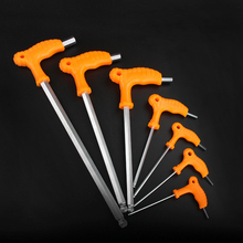 7Pcs/Set 2.5-10MM L-shaped Hex Wrench Set Ball Head Wrenches Allen Key Professional Spanner Hand Tool Ferramentas Herramientas